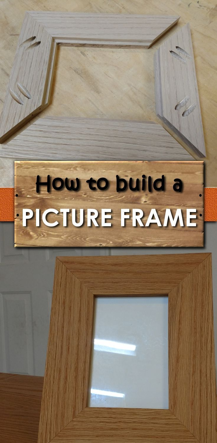 Build A Picture Frame You'll Love – Simple How-To DIY With Pictures