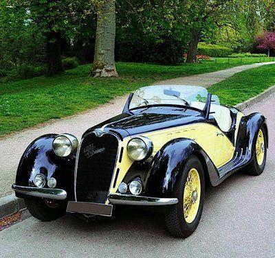 1939 Alfa Romeo el modelo que a pesar de los años a mi me enamora