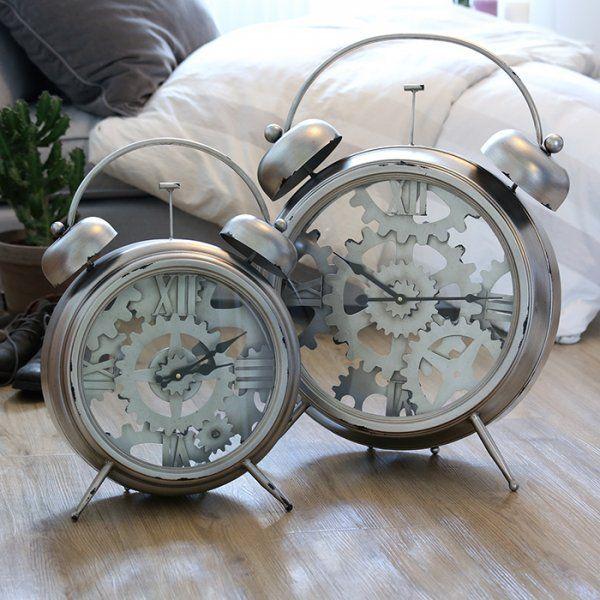 Hodiny Alarm clock 52 cm stojace
