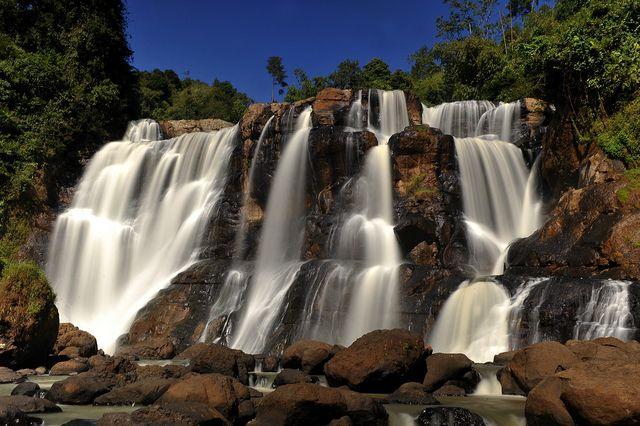Curug Malela, West Java | The Mini Iguazu Falls.