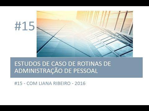 Curso de Auxiliar de Departamento Pessoal: Estudo de caso #15 #vídeo + #PAP #valetransporte