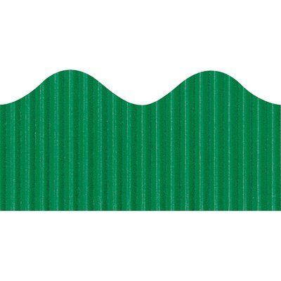 Pacon Creative Products Scalloped Bordette Decorative Classroom Border Color: Emerald
