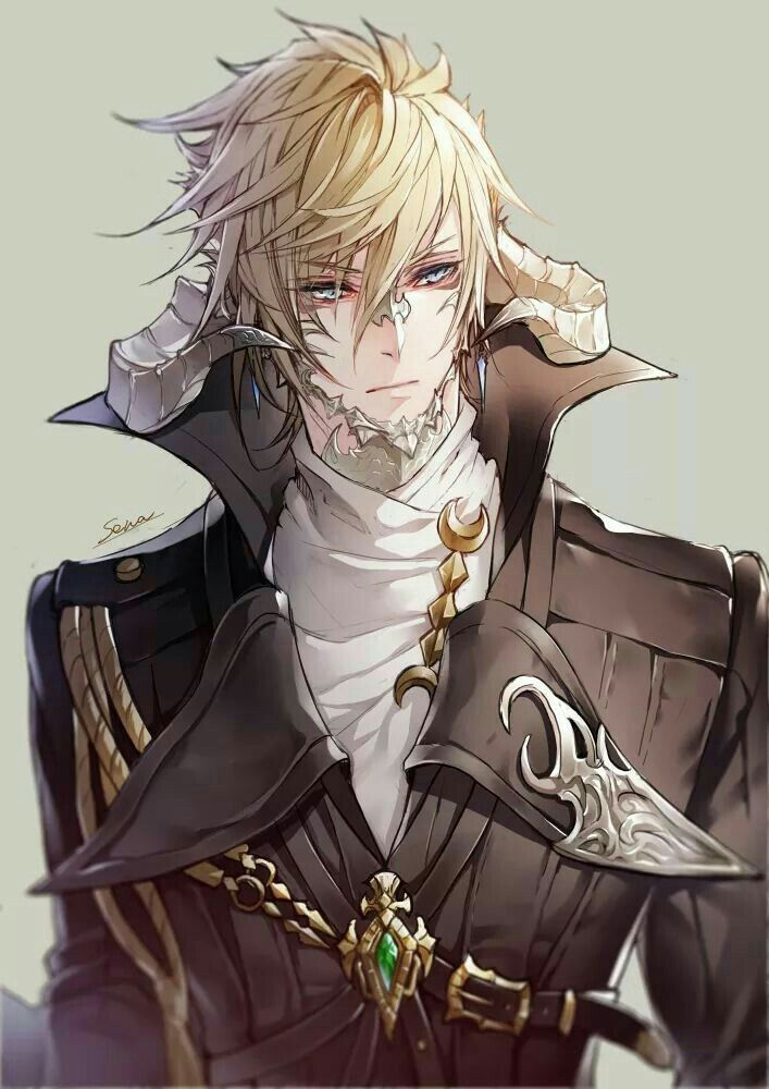 Pin On Blonde Male Anime
