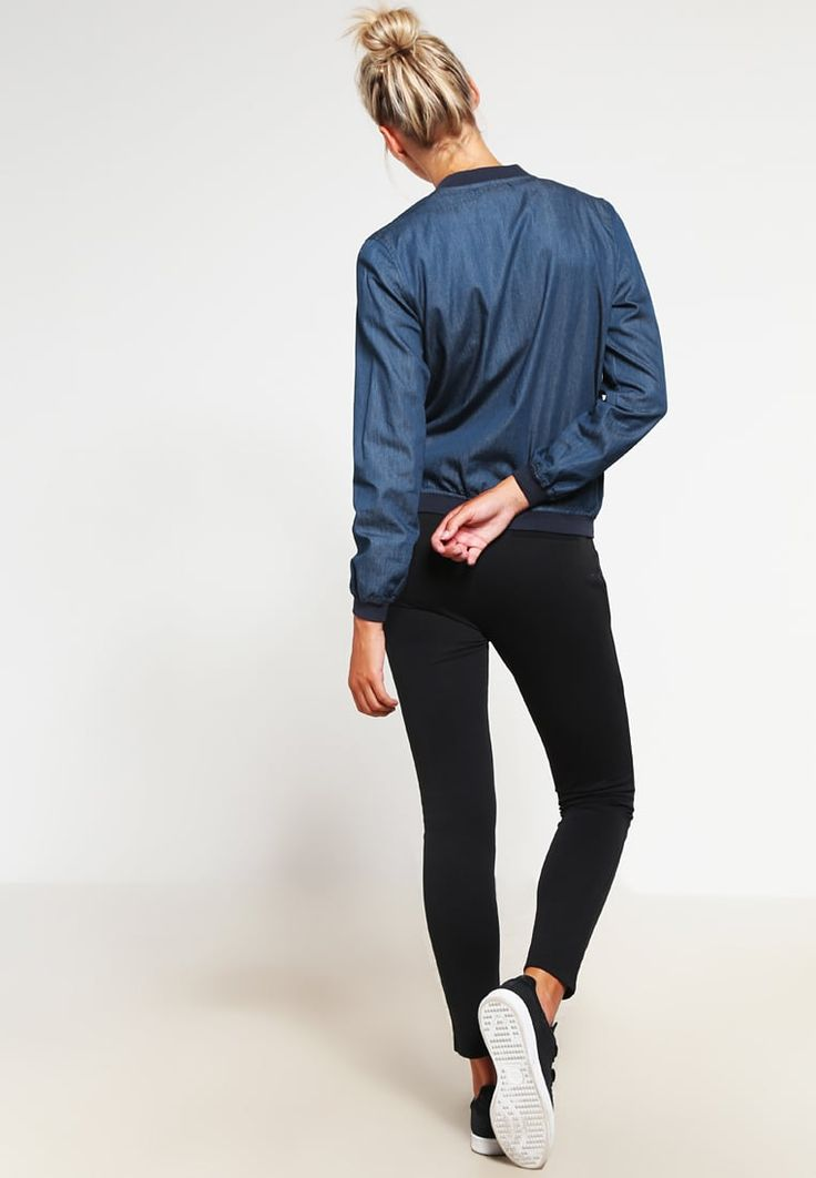Missguided Bomber Jacket - blue for £35.00 (23/08/16) with free delivery at…