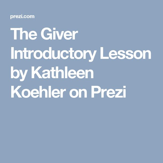 literary essay for the giver What do you need in a thesis statement can you give me an example i'm doing a response to literature on the giver, by lois lowry and i need help with the thesis statement.