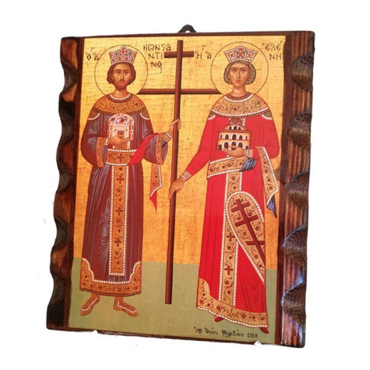 Άγιοι Κωνσταντίνος και Ελένη οι Ισαπόστολοι+