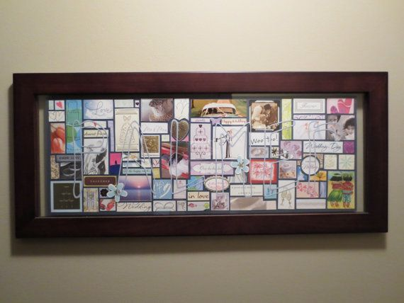 Custom Wedding Card Collage  large panoramic by wellspringcollages, $95.00