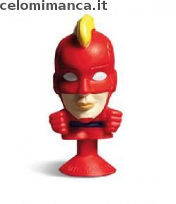 Megapopz Avengers: Fronte Figurina n. 12 Captain Marvel