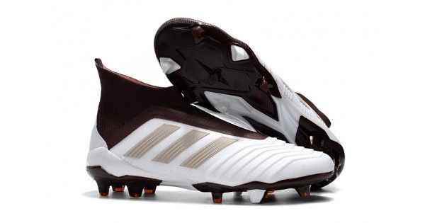 Buy Discount Adidas Predator 18 FG Football Boots White Purple with  discount price in UK b67dada072ef3