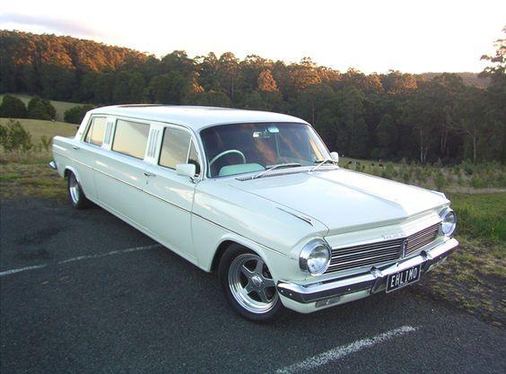 ◆ Visit MACHINE Shop Café... ◆ ~ Aussie Custom Cars & Bikes ~ Custom 1960's EH Holden Limo