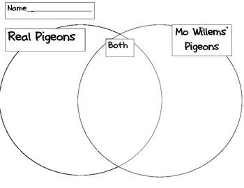 Mo Willems Pigeon Compare and Contrast
