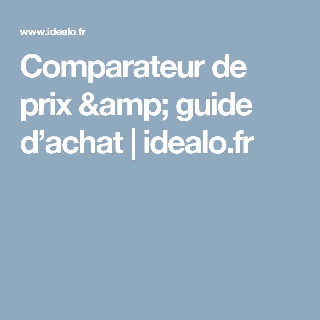 Comparateur de prix & guide d'achat | idealo.fr