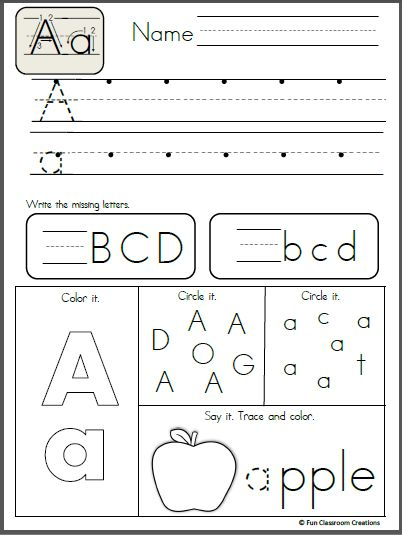 FreeAlphabet Letter K Writing Practice. Trace it. Say it. Color it. Find it, and write it. Like the sample page? Buy the entire alphabet packet. Click here!