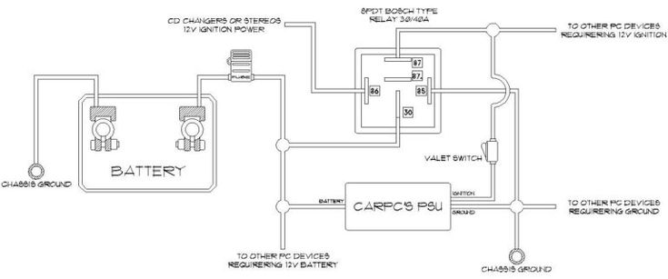 Wiring Diagram 12 Volt Relay 5 Pin 7 For Relays On 12 Volt