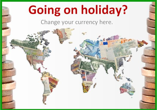 Post office role play poster...Editable currency poster. Ideal to use as part of a post office or travel agency role play scenario.