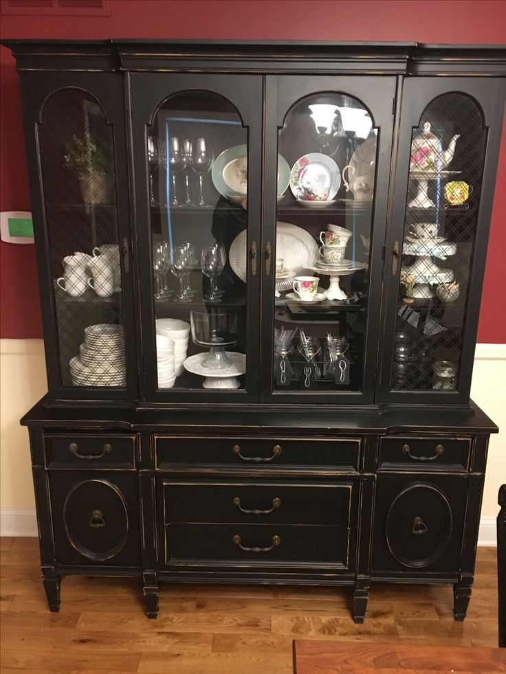 refinished china cabinet 1000 ideas about vintage china cabinets on 25287
