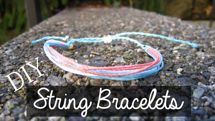 How to make wax string waterproof bracelets inspired by pura vida bracelets! https://www.youtube.com/watch?v=NLqGhepBxlQ  diy pura vida bracelets
