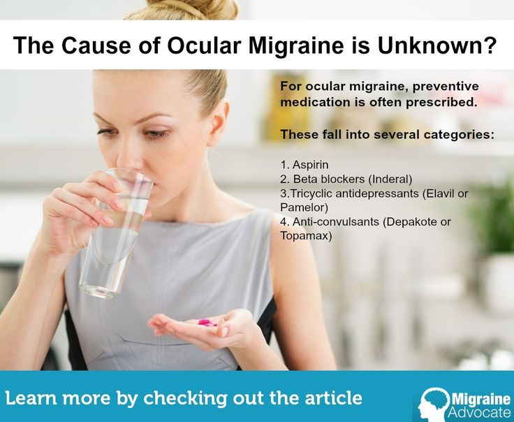 What to do if you lose your vision during or after a migraine?