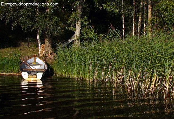 Finnland – Land der tausend Seen: eine typisch finnische Seenlandschaft