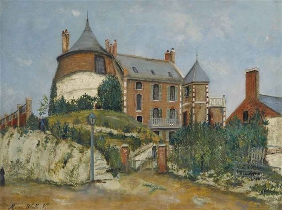 Maurice Utrillo, Le château