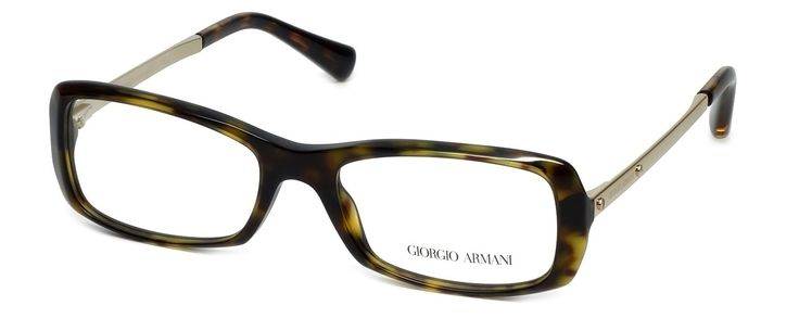 """GIORGIO ARMANI Eyeglasses AR 7011 5026 Havana 53MM. 5"""" Frame Width 1.4"""" Lens Height. Authentic Giorgio Armani Designer Optical Eyewear ; Hand Crafted in Italy. Includes Original Giorgio Armani Carrying Case. Spring Hinged for Added Comfort. Demo Lens ; No Power. RX Ready."""