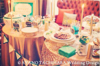 Karuizawa_Wedding Love is Sweet キャンディーバー