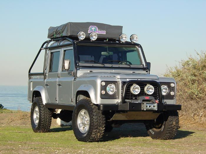 Land Rover Defender 130 crew -- Utility