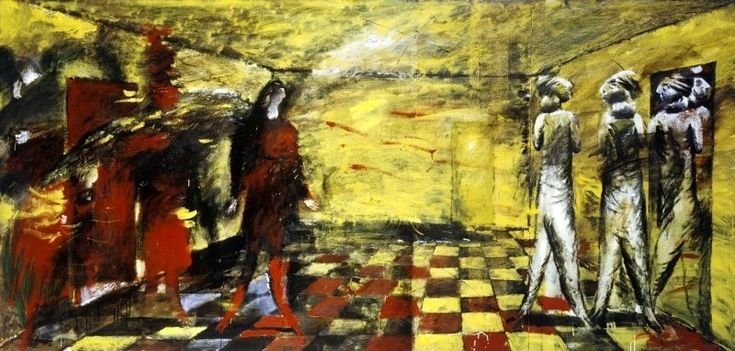 <em>Yellow room</em>, 1989