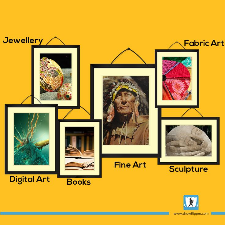 Bring home the #stars with #ShowFlipper! In every #artform you can imagine. #artgallery #artstudio