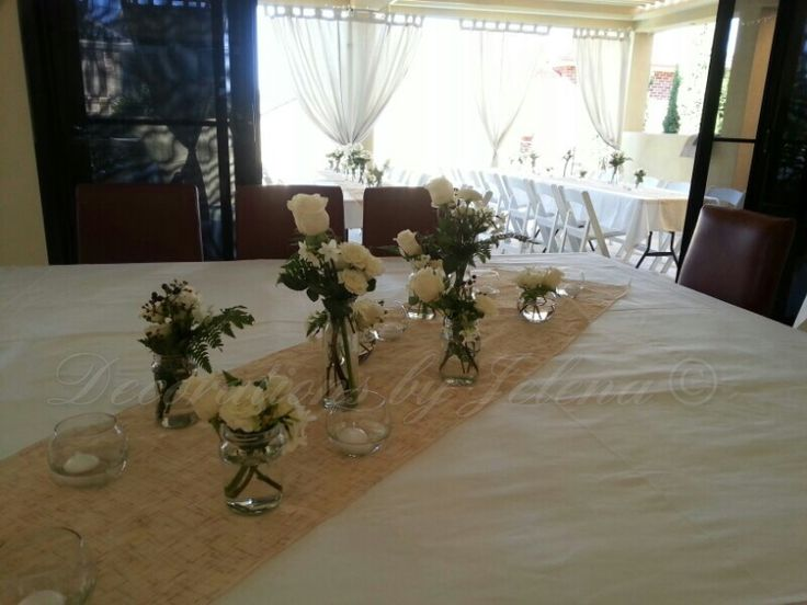 Beach style reception for weddings, birthdays, gatherings