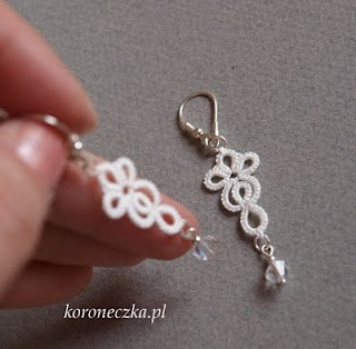 Tatting - Art Lace: September 2010 cute pattern - I'm gonna try these!