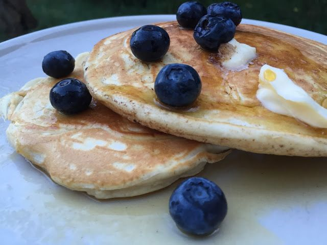 Fluffy and Light, delicious American Pancakes Recipe!