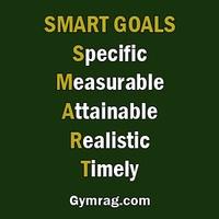 The secret to success is having SMART goals.