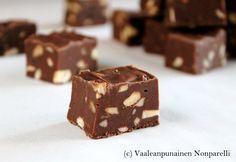Oletko jo näitä helppoja suklaafudgeja kokeillut? Suosittelen sen tekemään!:) Törmäsin näihin jossain jo viime vuonna, mutta blogiin ast...