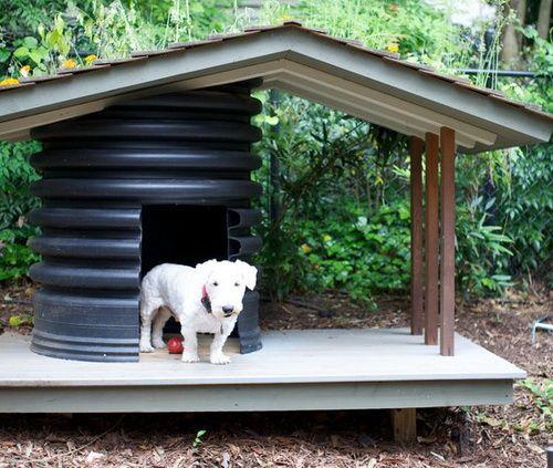 Home Design Ideas For Dogs: Creative Dog House Design Ideas_30