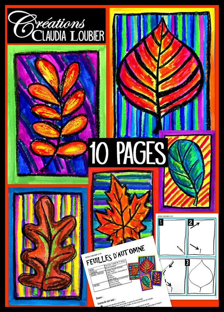 L'automne est déjà à nos portes ! Ce projet convient à tous, à partir de la première année. Les maternelles pourront faire ce projet, avec plus de suivi de la part de l'enseignant(e). Les 6e quant à eux, pousseront les mélanges de pastels plus loin. Vous aurez besoin de pastels à l'huile, de gouache en pain et de crayon de cire noir. Comme toujours, la démarche est expliquée étape par étape, avec photos et grille d'évaluation.