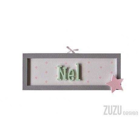 Tabliczka z imieniem dla Nel