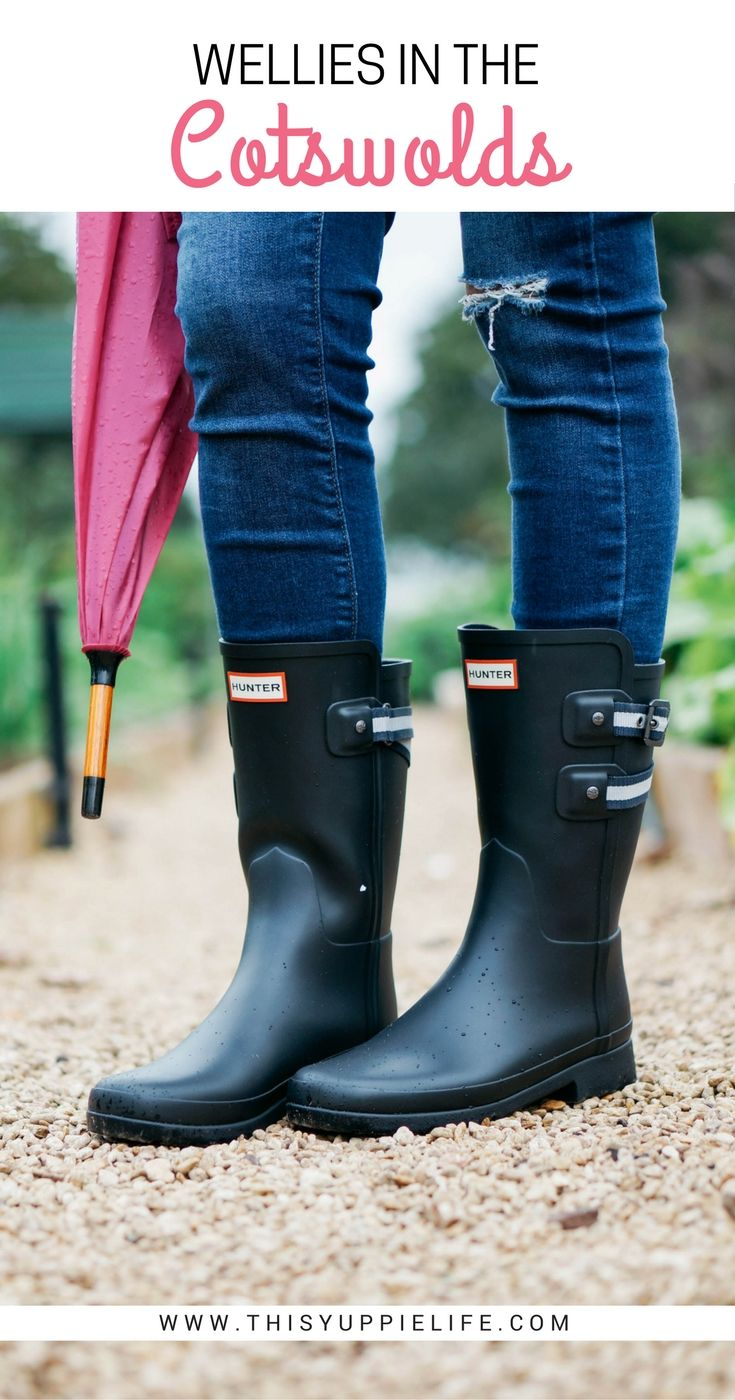 A look at the perfect pair of wellies for the English Countryside and a glimpse of the gardens at The Pig near Bath, a luxury hotel.