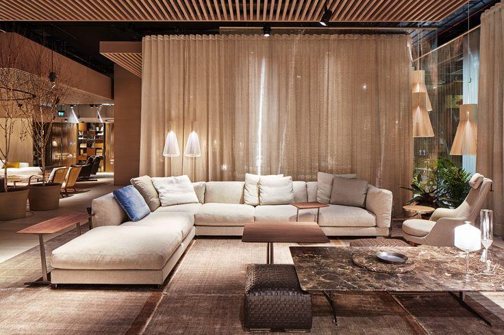 FLEXFORM CESTONE #sofa #design Antonio Citterio