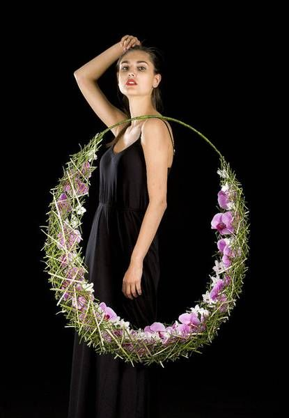 Bridal Hoop ~ by Stein Are Hansen of Norway?    Florint: Blomster Event 2011 - 2
