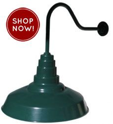 Exterior commercial coach lights large outdoor gooseneck barn lights colorbox pinterest for Commercial exterior gooseneck light fixtures