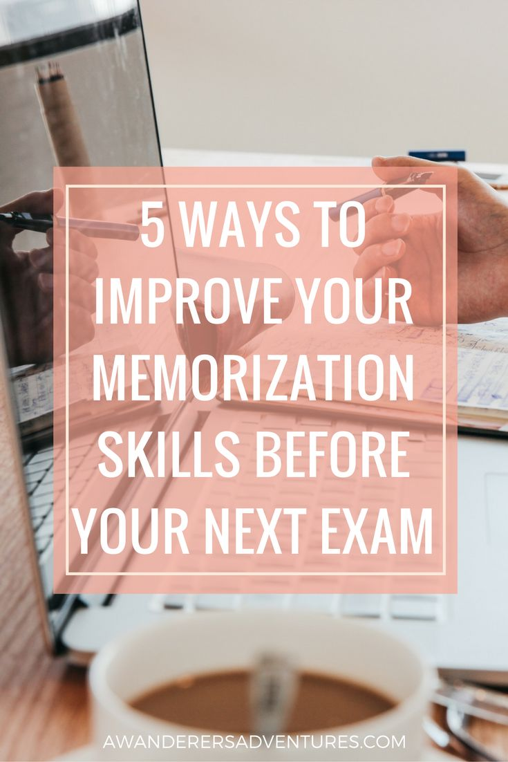 ideas about student life college organization 5 ways to improve your memorization skills before your next exam