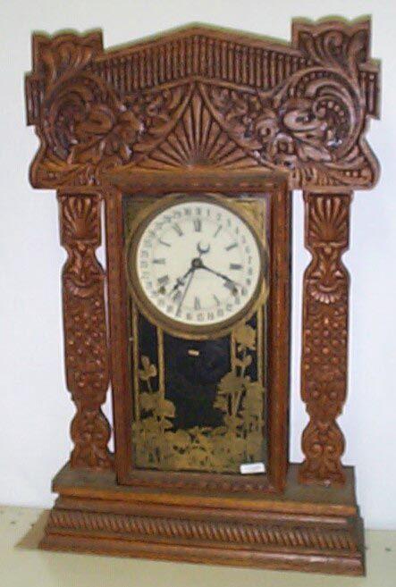 antique clocks | antique kitchen mantel clocks - mackey's antique clock repair ...