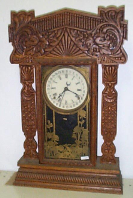 Old Mantle Clocks 14