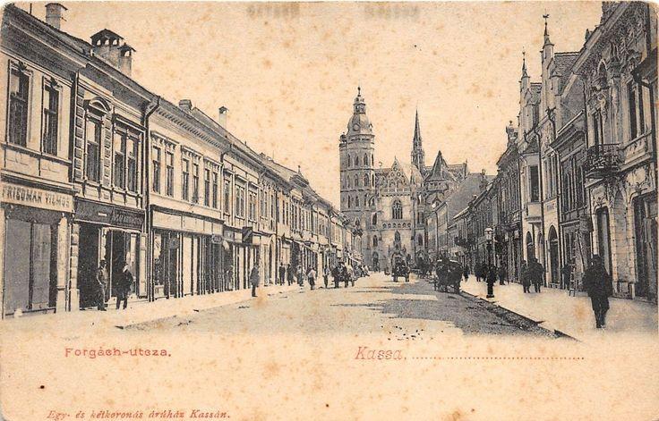 B28944 Slovakia Kassa Kosice Forgach utcza 1900