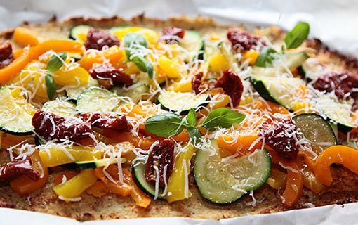 Pizza bez mouky? Překvapivě dobrá z květáku!