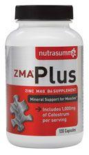 ZMA Plus Magnesium/B6 Supplement