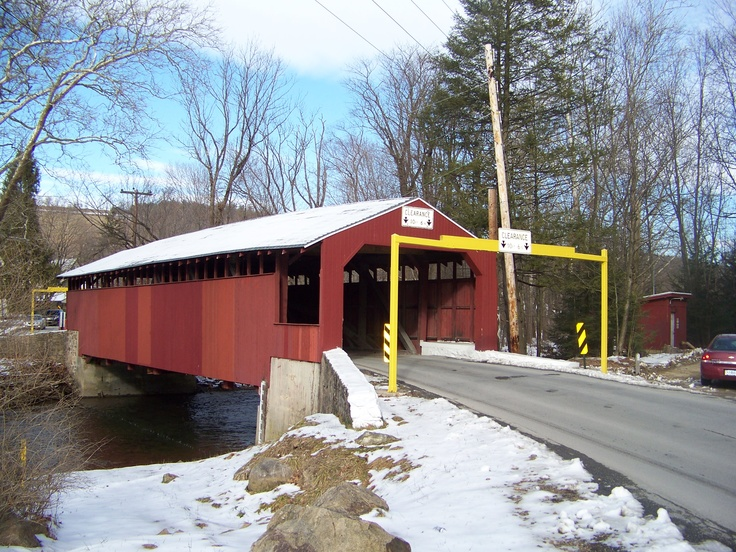 Little Gap Covered Bridge Carbon County, PA