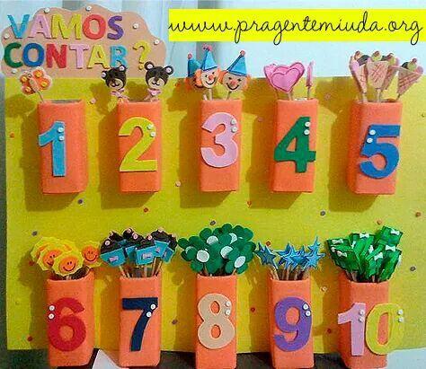 Mural de números