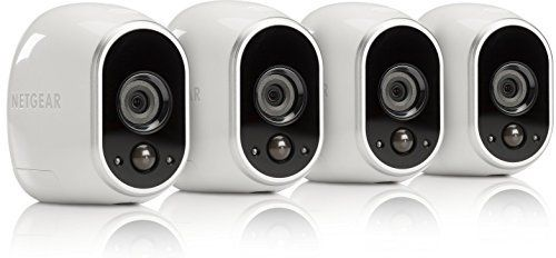 Arlo Smart Home Security Cameras 100% wire-free, HD, Indoor/Outdoor video cameras and can be added to any Arlo base station system. Motion activated cameras initiate automatic recording and alert y…